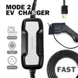 Câble du chargeur portable Besen EV Case 16A Type de charge 1 NEMA 6-20 EV Station Chargeur de voiture électrique Evse 2,2 KW, 5m/19FT