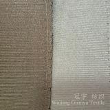 Super doux de la soie polyester Tissu pour rideaux d'imitation