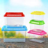 Biens Using le mini réservoir de poissons d'aquarium portatif de pp