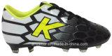 Le garçon de la Chine folâtre les chaussures du football de bottes du football (415-6464)