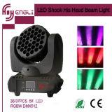 36*3W éclairage principal mobile de faisceau d'étape du CREE DEL (HL-007BM)