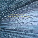 Poliéster de alta Quanlity Plisse malla de la pantalla de insectos/ Hilados de plegado de fibra de vidrio