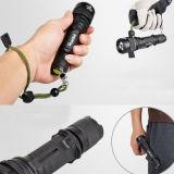 Telescópico Zoom CREE T6 Tactical LED Linterna (Poppas-S16)