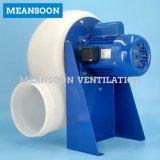 Ventilador centrífugo Hormiga-Corrosivo plástico Mpcf-2s200 para el capo motor del humo