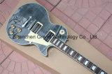 DIY Lp Kit guitarra / Lp Guitarra personalizado padrão em preto transparente (BPL-88)