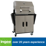 BBQ di Grill Folding Side Shelves 2-Burner del gas