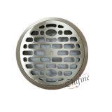 Cocina Baño dren de la ducha del piso de acero redondo Staitary