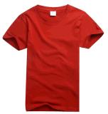 OEM Custom Vêtements de haute qualité de service des hommes du coton T-shirt couleur unie