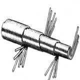 ライトConstrution機械用フレキシブルシャフト