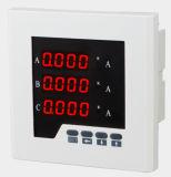 삼상 디지털 발광 다이오드 표시 전기 전류계