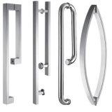 """3/8の""""ガラスが付いている固体および信頼できるシャワー機構のステンレス鋼のシャワー・カーテン"""