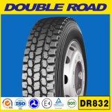 O radial Semi sem câmara de ar monta pneus o pneumático dobro do caminhão da estrada 11r22.5 11r24.5 para o caminhão de America do Norte