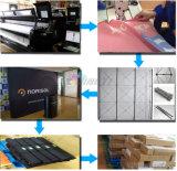 品質の昇華印刷の伸縮織物のリサイクルによっては背景幕の旗の立場が現れる