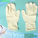 Nicht sterile pulverisierte Latex-Prüfungs-Handschuhe (Sicherheits-Handschuhe)