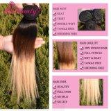 Бразильский тон выдвижений 3 человеческих волос Ombre Remy волос девственницы