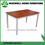 A madeira maciça mesa de jantar moderna mobília de sala de jantar