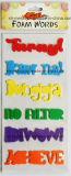 La gomma piuma multicolore esprime gli autoadesivi per Scrapbooking/mestieri Handmade