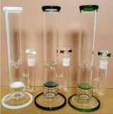 A tubulação de fumo de vidro regular com mistura dobro dos discos do pente do mel colore 1200g disponível
