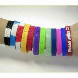Soem-Kind-Form-bunter SilikonWristband für Förderung-Geschenk