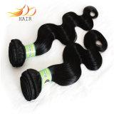 Trame indiane dei capelli di Remy di vendita di alta qualità dell'onda calda del corpo