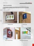 구부려진 벽 부류 표시