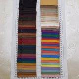 Tissu stratifié par cuir texturisé multicolore d'éponge de PVC pour la fabrication de sac