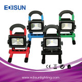 indicatore luminoso di inondazione esterno Emergency del lavoro LED della batteria ricaricabile 12V/24V/36V con il caricatore del USB