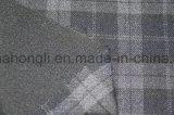 Tela teñida hilado de la tela escocesa de T/R, 63%Polyester 33%Rayon 4%Spandex, 260GSM