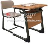 Steel Frame를 가진 2015 최고 Seller Single Student Table 및 Chair