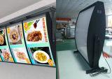 공장에 의하여 주문을 받아서 만들어지는 대중음식점 LED 메뉴 널 수정같은 가벼운 상자