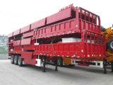 Cargo de Chhgc/semi-remolque de la cerca con el tipo plano pared lateral