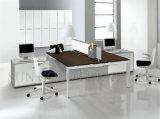 Stazione di lavoro moderna del cubicolo dell'ufficio delle due genti della disposizione dell'ufficio (SZ-WS173)
