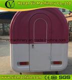 Glace multifonctionnelle, hot dog mobile food cart trailer