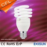 Lampe spiralée à moitié pleine neuve d'économie d'énergie du T2 7W 9W 11W E27 Warmwhite