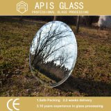 """6 mm con borde biselado 1"""" sin marco Espejo de Plata con la película protectora solo embalaje"""