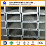 Tubo del quadrato dell'acciaio dolce di lunghezza di GB Satandard 6m di spessore di Q195 0.8mm