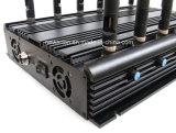 Jammer настольный компьютер 12-Antenna передвижные Phone+WiFi+GPS+Lojack+433/315/868 MHz/блокатор иа АБС битор, Jammer сигнала мобильного телефона/и АБС битор/блокатор