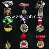 Medalla de la aleación del cinc de la alta calidad con el fabricante de la cinta
