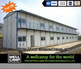 Wellcamp construcción prefabricados de acero de dos pisos para los trabajadores