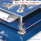 Schaltkarte-Mutter, /PCB-Distanzhülsen, /Weld-Mutter, /Smtso-M3-5et, Bandspule-Paket, auf Lager an Hand, Messing, Bandspule