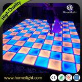 2017 Nouveaux panneaux de danse blanc acrylique à l'eau LED Dance Floor in Wedding Stage Party DJ Show