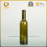 Бутылка ликвора 375ml пробочки верхняя малая стеклянная для Бордо (090)