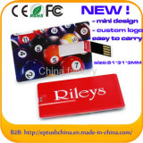 Versão 2.0 Cartão de crédito portátil personalizado USB Flash Drive (EC017)