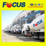Machines à béton populaires - Mélangeur de camions avec châssis HOWO
