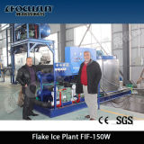 Concrete Cooling Used Flake Ice Maker
