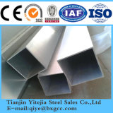 ASTM 304 tube carré en acier inoxydable EN 1.4301