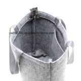 流行のフェルトの女性ショッピング・バッグ