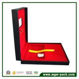 Коробка подарка бумажного золота картона высокого качества