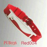 Силиконовый магнитный браслет Pub036 Красный (PUB036)