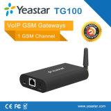 Yeastar ein G/M schließt VoIP G/M an den Port an (NeoGate TG100)